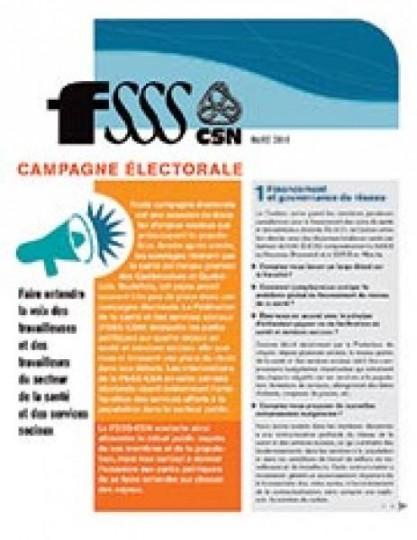 Campagne électorale 2014 – Tract – secteurs privés
