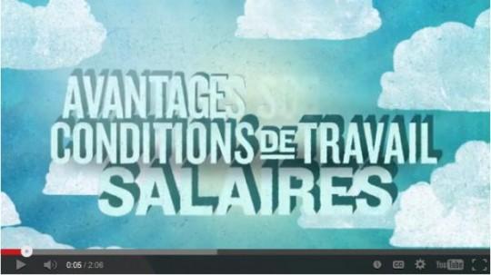 Capsule vidéo du comité des jeunes de la FSSS-CSN