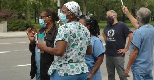 Dépôt de 1000 griefs de racisme et discrimination systémique  au CIUSSS du Centre Sud de l'Île-de-Montréal