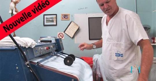Vidéo sur la sauvegarde de la buanderie de l'Hôtel-Dieu de Sorel