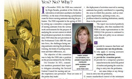 Bulletin d'information de la catégorie 1 Version anglaise – novembre 2011