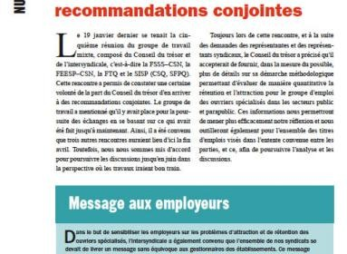 Bulletin Info-Ouvriers numéro 4 de février 2012