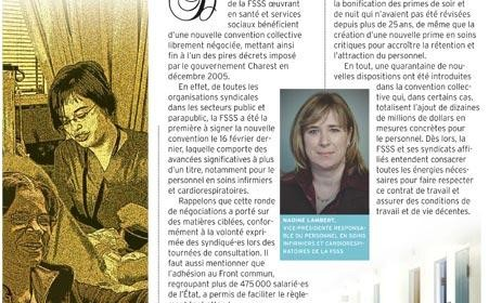 Bulletin d'information en soins infirmiers et cardiorespiratoires, avril 2011