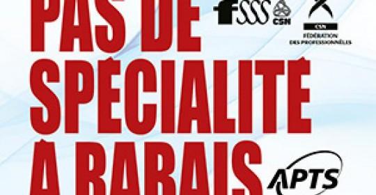 Technologues spécialisés en radiologie : Pas de spécialité à rabais!