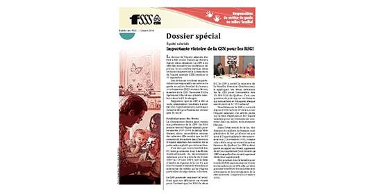 Dossier spécial: Équité salariale des RSG