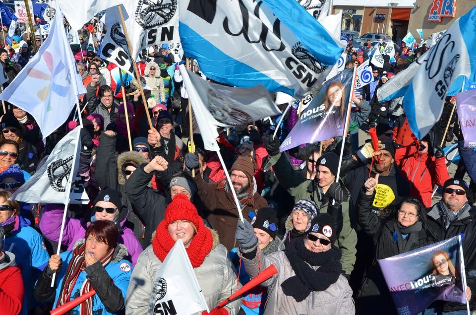 Quelques réflexions sur la grève : Nous irons aussi loin que nos membres veulent aller !