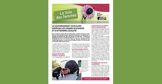Journal La Voix des femmes
