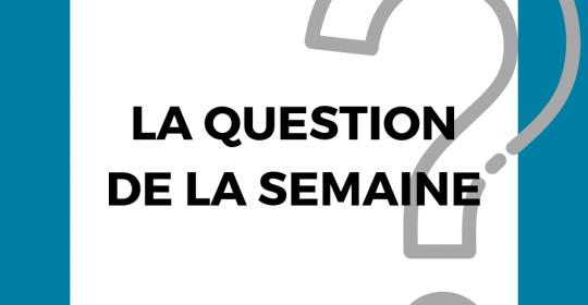 Question de la semaine : solutions au manque de personnel