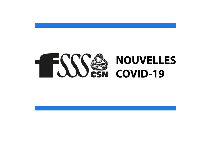 COVID-19 : les nouvelles du 15 juin