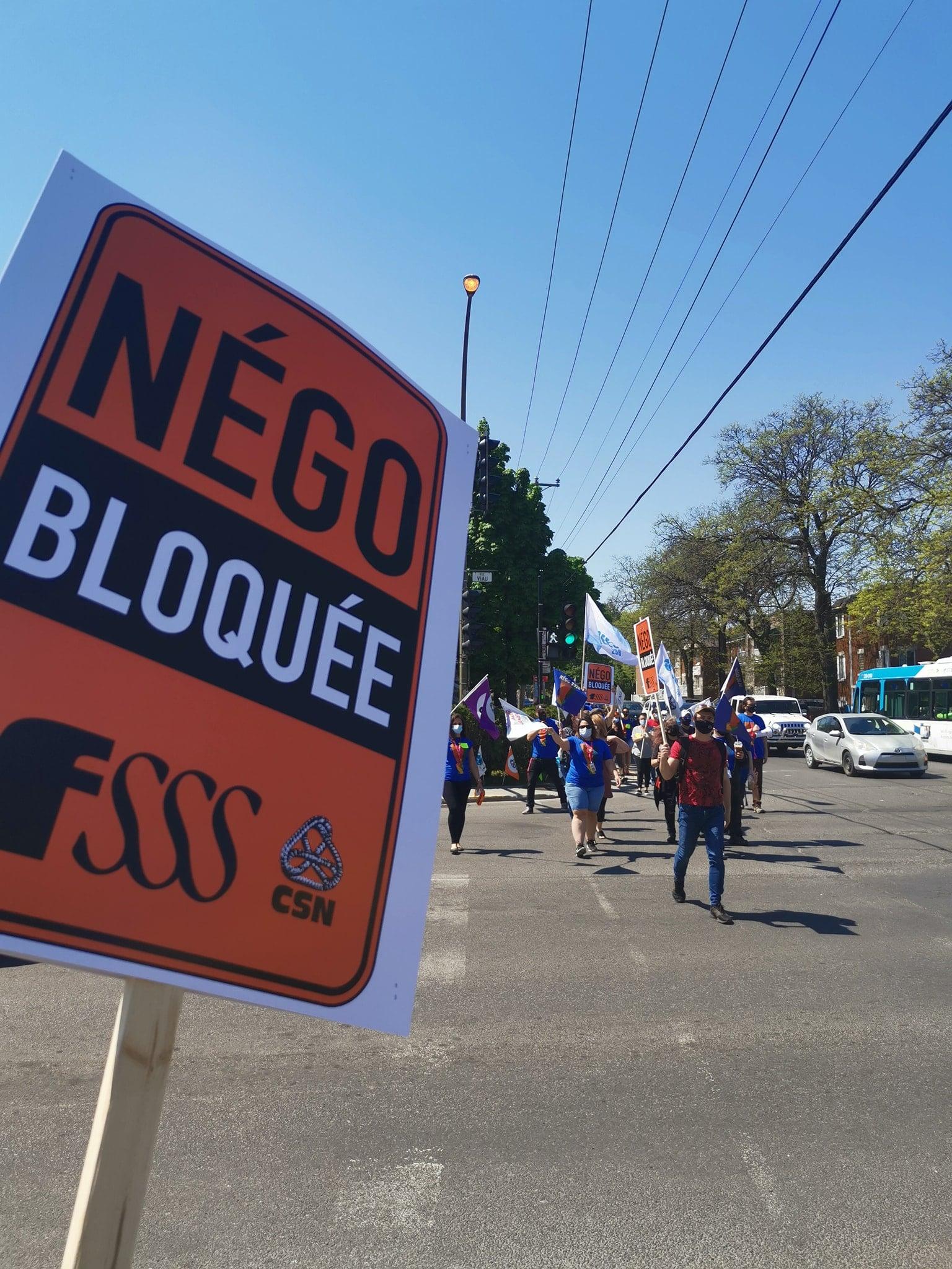 La FSSS–CSN en grève les 21 et 22 juin