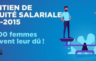 INFO-MAINTIEN de l'équité salariale – Plus de 60 000 femmes recevront enfin les sommes dues !